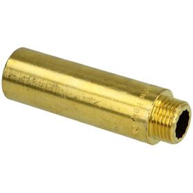 "Tap extension 1/2"" x 80 mm bright brass"