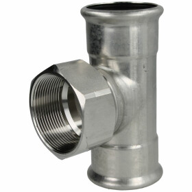 Stainless steel press fitting T-piece outlet...