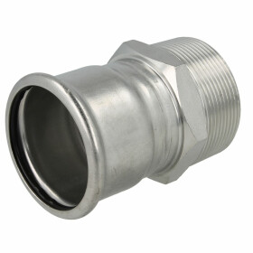 """Stainless steel press fitting adapter 28 mm I x 1""""..."""