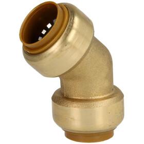 Tectite push-fitting bend 45° 28 mm F/F