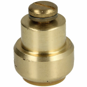 Tectite push-fitting cap with vent 18 mm