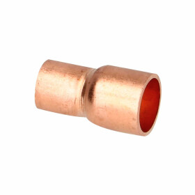 Soldered fitting copper reduction socket 16 x 10 mm F/F