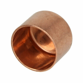 Soldered fitting copper cap 54 mm