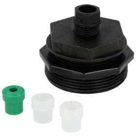 "Tank screw connection single 2"", 6/8/10/12 mm, plastic"