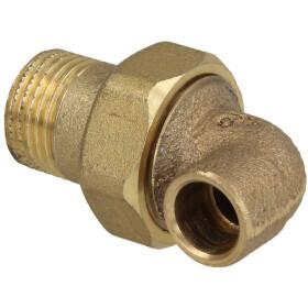Solder fitting gunmetal elbow union 90° 12 mm x...