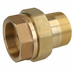"Gunmetal threaded fitting screw fitting ½""..."