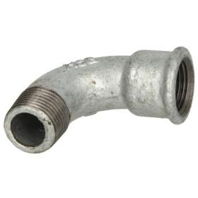 "Malleable cast iron fitting short bend 90° 2"" IT/ET"