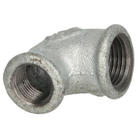 Malleable cast iron fitting elbow 90° reducing...