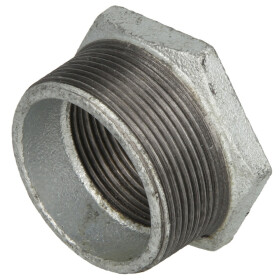 """Malleable cast iron fitting reducer 4"""" x 3"""" ET/IT"""