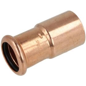 Press fitting copper reducer 42 x 28 mm F/M (contour M)