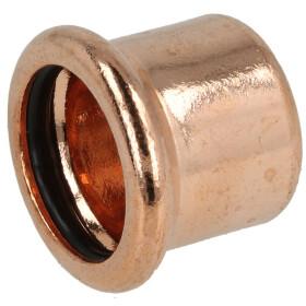 Press fitting copper cap 42 mm (contour M)