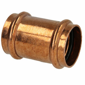 Press fitting copper coupling 12 mm contour V