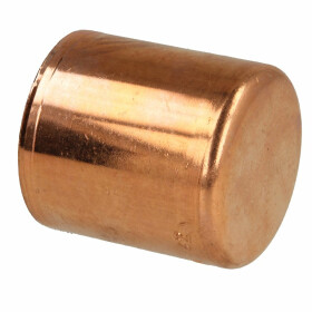Press fitting copper plug 12 mm contour V