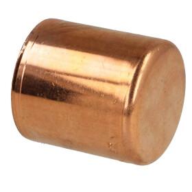Press fitting copper plug 28 mm contour V