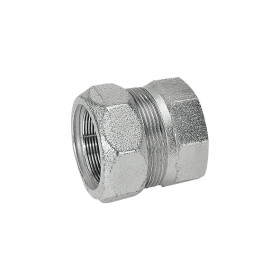 """End cap made of annealed cast iron, type EK 1/2""""..."""