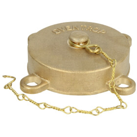 """End cap with chain 1½"""""""
