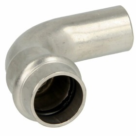 Stainless steel press fitting elbow 90° 54 mm F/M...