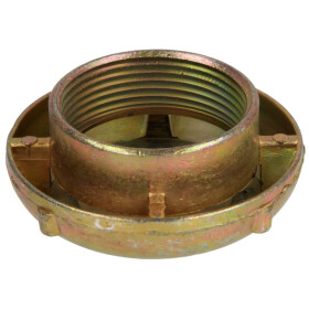 Cap for breather unit brass 1 1/2