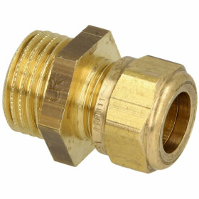 MS compression fitting, straight/ET for pipe-Ø 8...