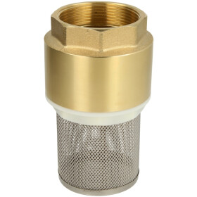 """Foot valve, 3/8"""", 10 bar, with strainer"""