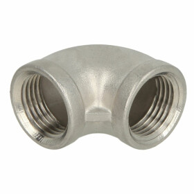 Stainless steel screw fitting elbow 90° 1 1/4 IT/IT