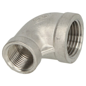 Stainless steel screw fitting elbow 90° 3/4 x 3/8...