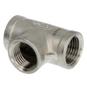 """Stainless steel screw fitting T-piece 3/4"""" IT/IT/IT"""