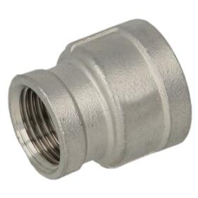 Stainless steel screw fitting socket reducing 1 1/2 x 1/2...
