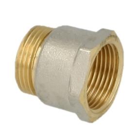 "Coupling brass ½"" eurocone x 1"" IT"