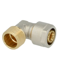 Compression fitting elbow brass 16 x 2 mm x...