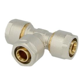 Compression fitting T-piece brass 16 x 2 mm x 16 x 2 mm x...