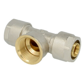 Compression fitting T-piece brass 16 x 2 mm x...