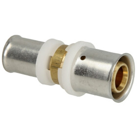 Press fitting straight coupling reduced 20 x 16 mm...