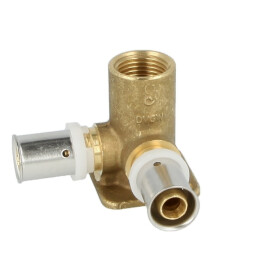 Wallplate female elbow coupling 52 mm high 16 mm x...