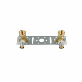 Plate kit with 2 female elbow joints mounted flanged 16...