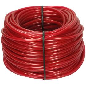 Afriso PVC hose 4 x 2 mm, red 100 m ring