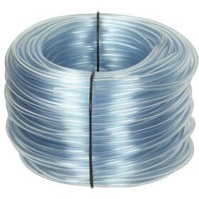 Afriso PVC hose 4 x 2 mm, transparent 100 m ring