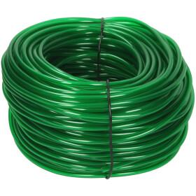 Afriso PVC hose 6 x 2 mm, green 100 m ring