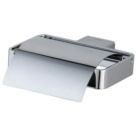 Emco Loft paper holder with cover S 0500 chrome