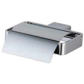Emco Loft paper holder with cover S 0500 stainless steel...