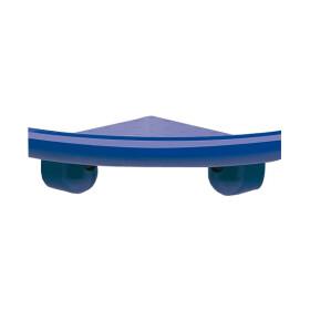 Nylon-Line-Eckablage dunkelblau