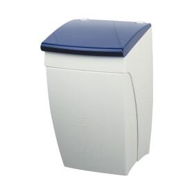Nylon-Line-Abfallbehälter dunkelblau