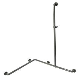 Normbau Nylon line shower hand rail with shower rail...