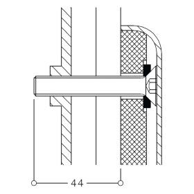 Normbau mounting set MS 4.9 A 3