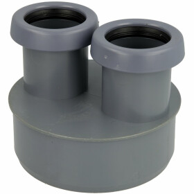 Airfit Wastewater reducer for HT and KG pipes 11044KR