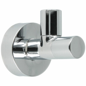 "Design angle valve 1/2"" self-sealing, chrome, w. CF..."