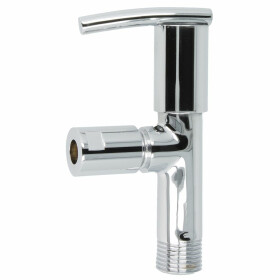"Design angle valve, athena, 1/2"" self-sealing,..."
