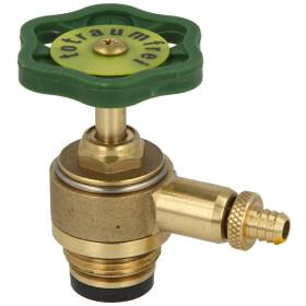 "Bonnet for straight-seat valve 3/4"" ET with drain..."