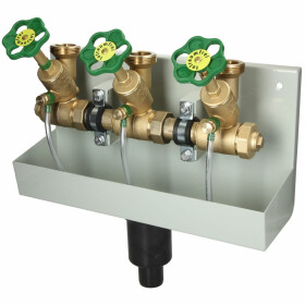 """Branch distributor 1"""" with drain pipe Triple..."""