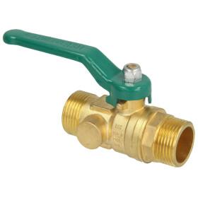 """Ball valve DVGW, ET 1 1/2""""x110 mm, DN 32 with long..."""